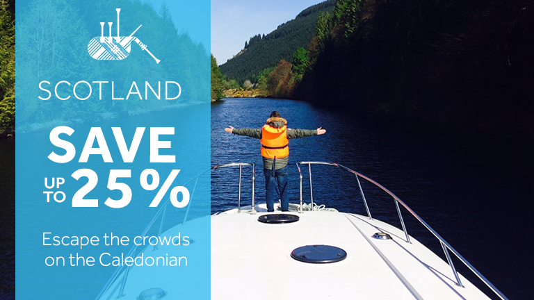 Le Boat - save up to 25% on River Cruises in Scotland