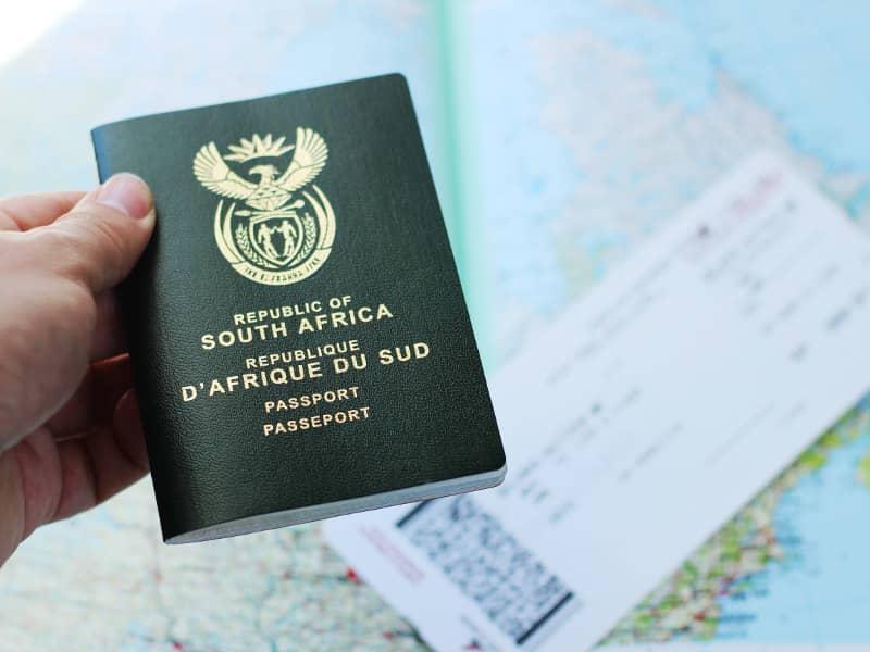 sa passports visas