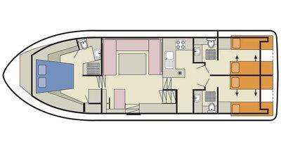 Royal Classique Deckplan