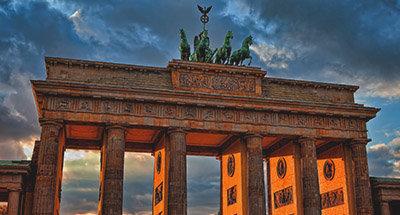 Berlin urban landscape
