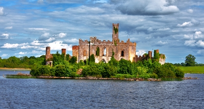 Lough Key Castle on Lough Key