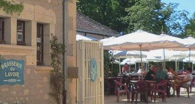 French Brasserie in Burgundy