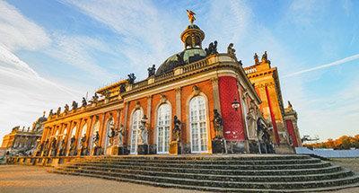 Sanssouci Palace in Potsdam