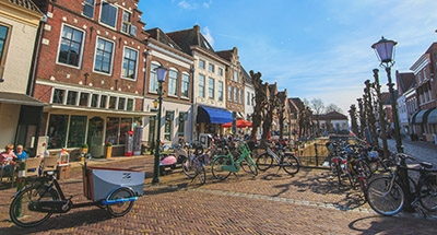 Bikies in Holland