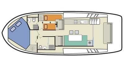 Horizon 2-S Deckplan