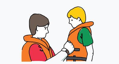 Wear life jackets
