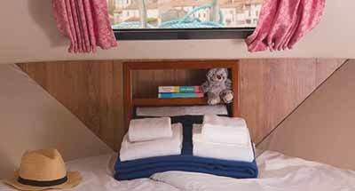 Nautilia cabins & bathrooms