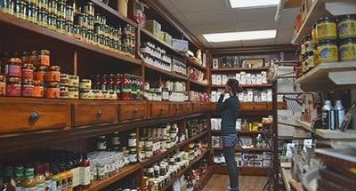 Kilborn's shopping in Newboro on the Rideau