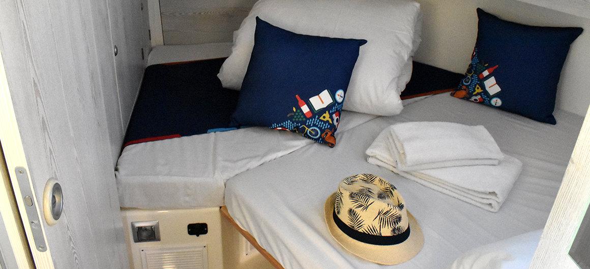 Horizon 5  - forward cabin