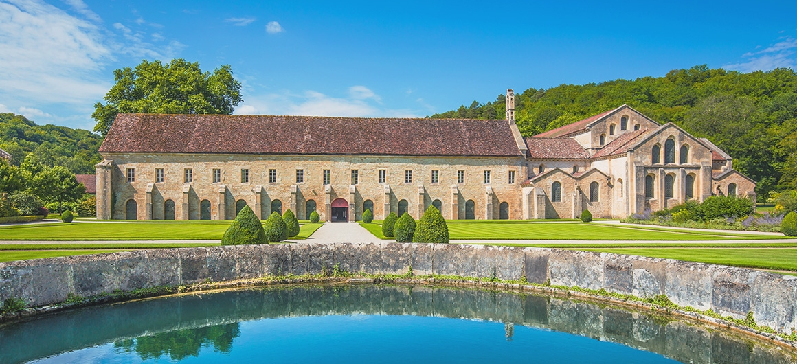 Abbey of Fontenay in Montbard