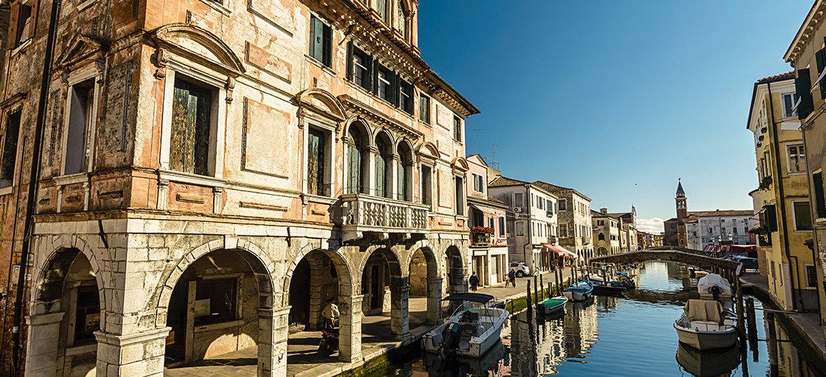 Coastal town Chioggia