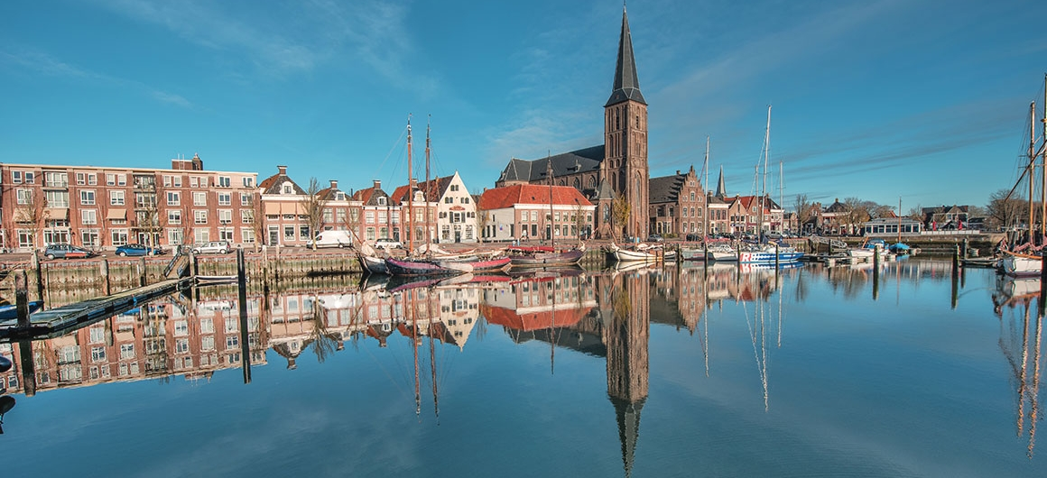 Harlingen Harbour, Netherlands
