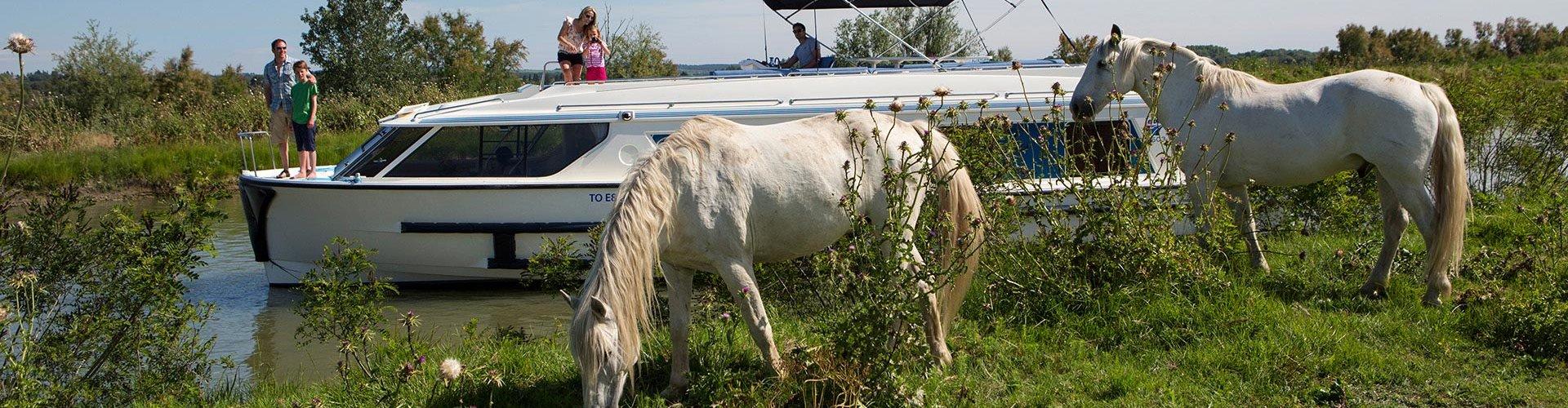 Vacaciones en barco para los amantes de la equitación