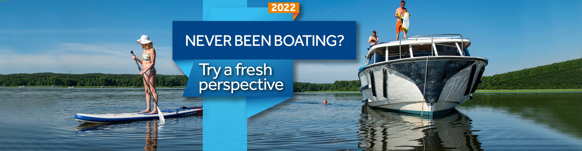New to boating - try a fresh perspective