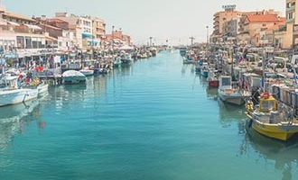 Canal Palavas Les Flots