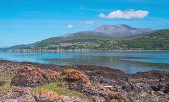 Fort William and Ben Nevis